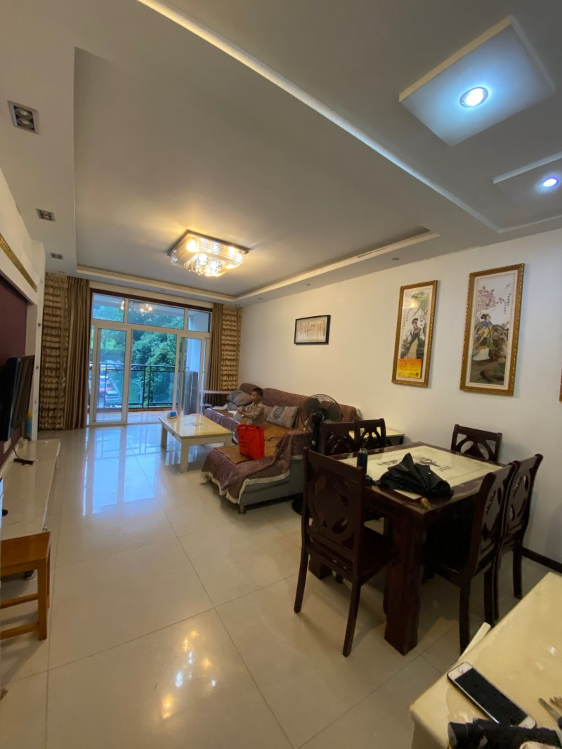 出租百安花园2室1厅1卫87平米住房,1200元每月押1付1